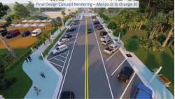 Dearborn Street, Englewood, Florida revitalization project