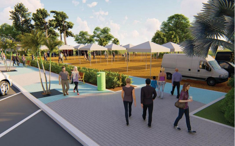 Dearborn Street, Englewood, Florida redevelopment project